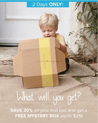FREE Citrus Lane Mystery Box + 30% off 1st Month
