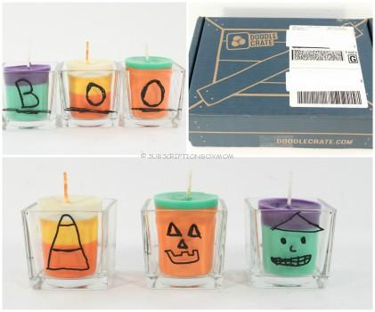 Doodle Crate Halloween Candles Review