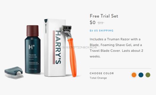 Free Shaving Subscription