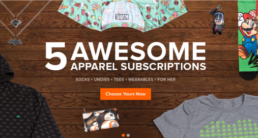 Free or almost free subscription boxes