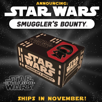 Star Wars Smuggler's Bounty Funko Subscription Box Launch