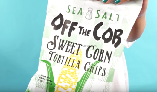 Off the Cob Sweet Corn Tortilla Chips