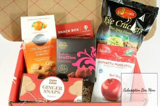Cheap Snack Subscription Box