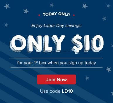 Citrus Lane 1st Box $10.00 - Labor Day 2015 Sale