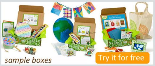 FREE Full-Sized Green Kid Crafts Subscription Box
