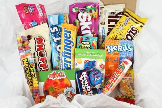 Candy Box October 2015 Review Subscription Box Mom
