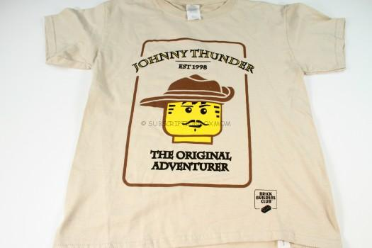 Johnny Thunder Brick Builders Club Shirt