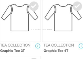 tea collection shirt