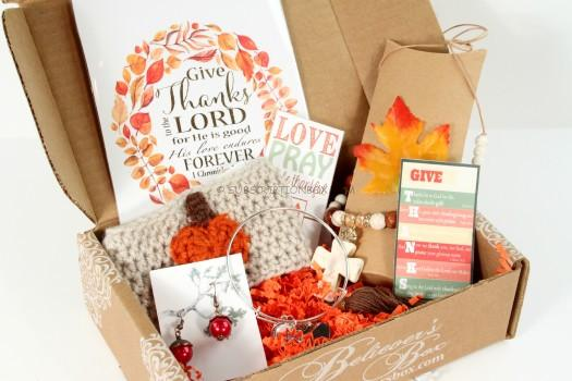 The Believer's Box November 2015 Review