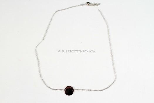 Jill Michael Coin Necklace in Silver