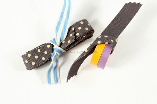 Ribbon and Washi Tape