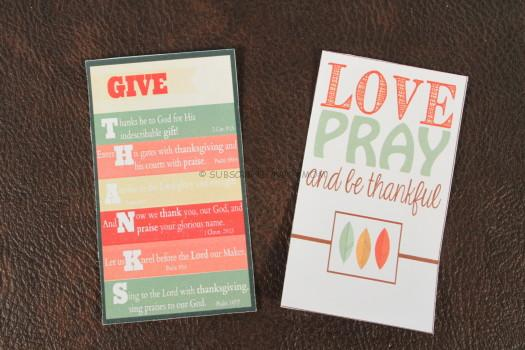Mini Scripture Cards