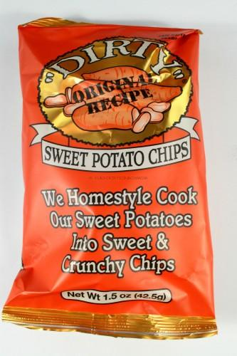 "Dirty Potato Chips ""Dirty"" Sweet Potato Chips"