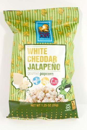 Pop Art Cheddar Jalapeno Popcorn