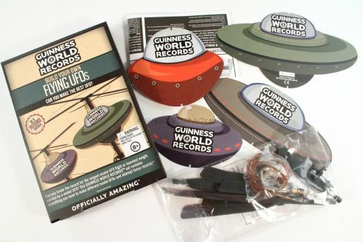 Paladone Guinness World Records BYO Flying UFO Model Kit
