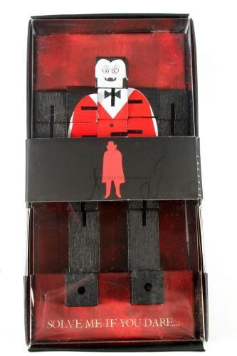 Dracula - A Petrifying Wooden Block 3D Puzzle!