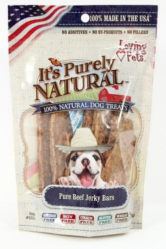 Loving Pets Pure Beef Jerky Bars