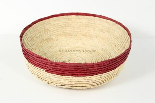 Handwoven Bowl from Mexico