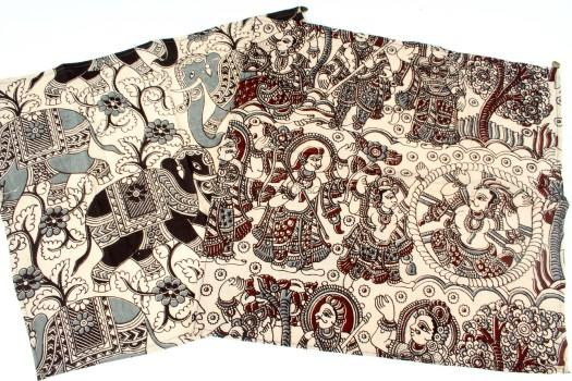 Kalamkari Fabric Hand Towel