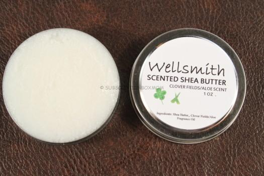 Wellsmith Scented Shea Butter - Clover Fields/Alow Scent