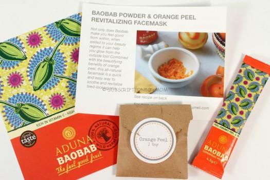 Baobab & Orange Revitalizing Facemask
