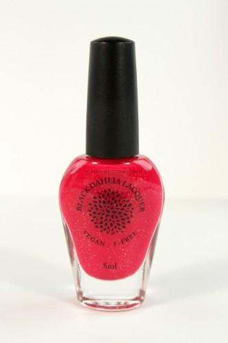 Black Dahlia Red Spike Cactus Nail Lacquer
