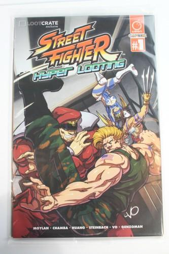 Exclusive Street Fighter Hyper Looting Comic Book