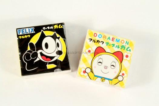 Felix and Doraemon Gum