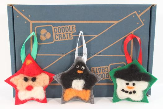 Doodle Crate Felting Ornaments Review