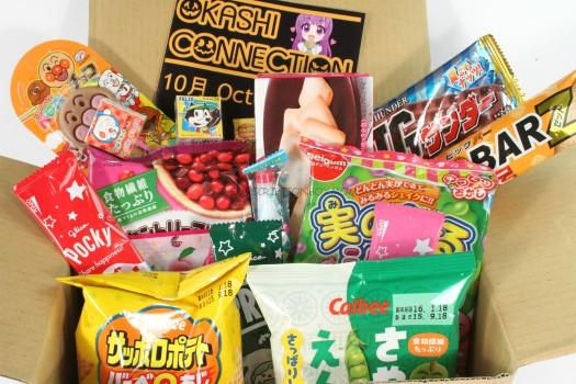 Okashi Connection Review October 2015
