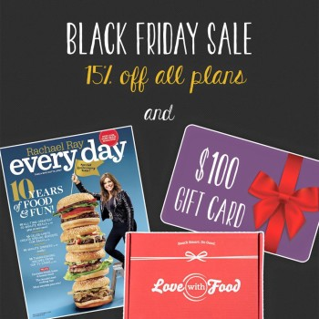 Love with Food Black Friday 2015 Deals