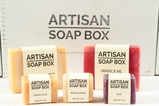 Artisan Soap Box November 2015 Review