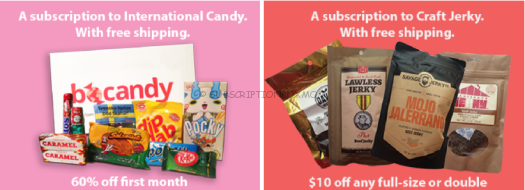 BoCandy & BoJerky Black Friday Subscription Box Deals 2015