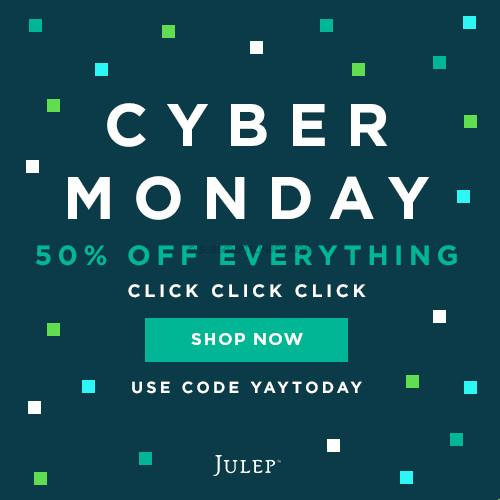 Julep Maven Cyber Monday 2015 Coupon and Deal