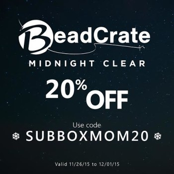 BeadCrate Black Friday 2015 Exclusive Coupon