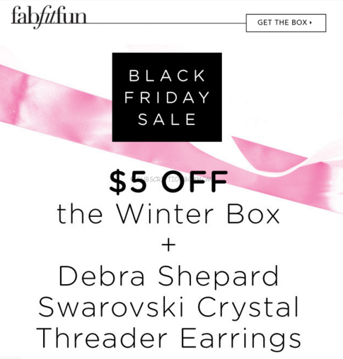FabFitFun Black Friday 2015 Deal + Coupon