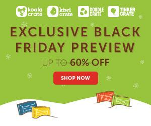 Kiwi Crate Black Friday 2015 Coupon + 50% Store Purchases