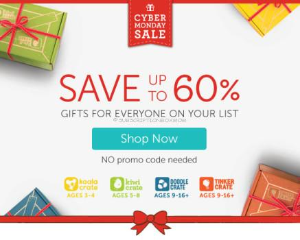 Kiwi Crate Cyber Monday Deals + Coupons
