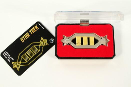 Star Trek Rank Insignia Lapel Pin