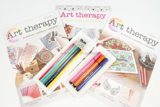 Art Therapy by Hachette Coloring Subscription Review