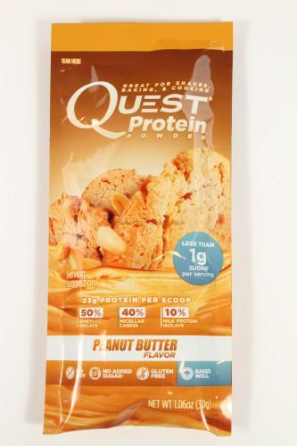 Quest Protein Powder Peanut Butter Flavor Powder