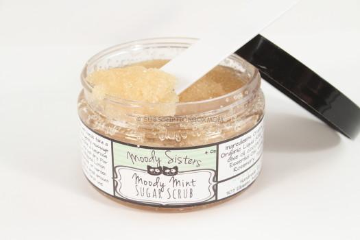 Moody Sister Natural Skincare Sugar Scrub in Moody Mint Julep