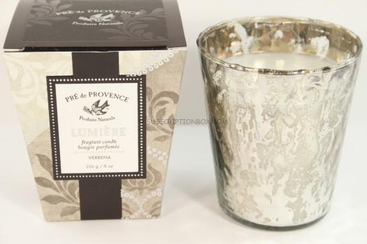 Pre de Provence Lumiere Fragrant Candle