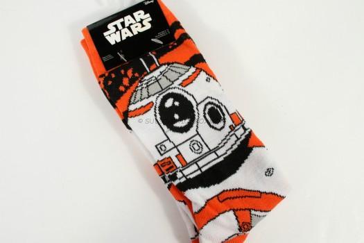 EXCLUSIVE Star Wars BB-8 Crew Socks