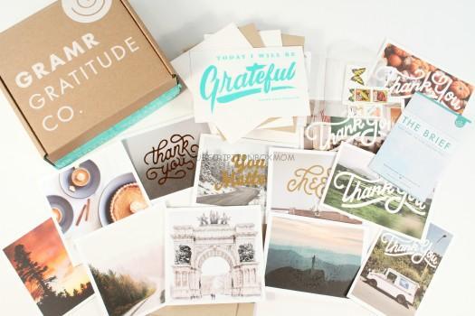 Gramr Gratitude Co December 2015 Review