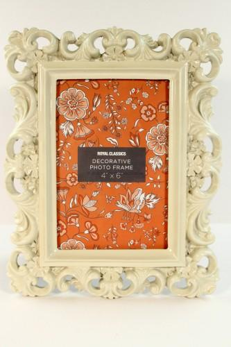 French Decorative 4×6 Frame
