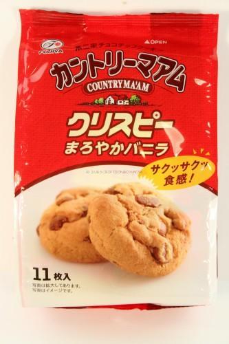 Country Ma'am Crispy Maroyaka Vanilla Cookies