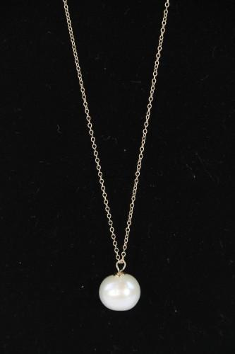 Large Pearl Pendent by Kristin Pearce Designs