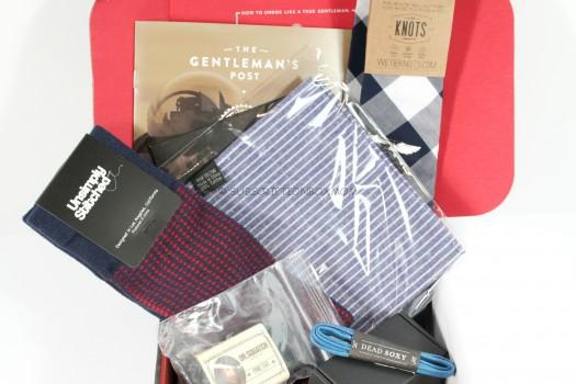 Gentleman's Box December 2015 Review