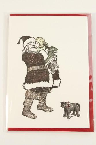 Kiss for Santa Card
